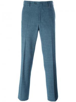 Зауженные брюки Loro Piana. Цвет: зелёный