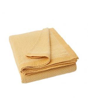 Одеяло LEXINGTON. Цвет: охра