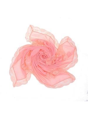 Платок Dispacci. Цвет: розовый