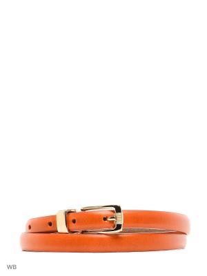 Ремень Stefania Morri. Цвет: оранжевый