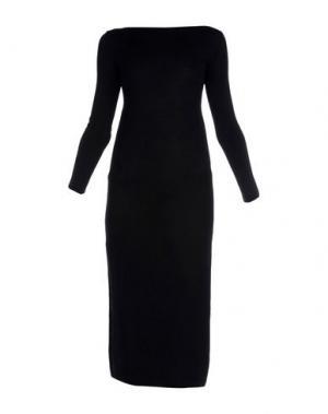 Платье длиной 3/4 B.YU. Цвет: черный