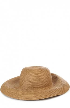 Шляпа Eric Javits. Цвет: темно-бежевый
