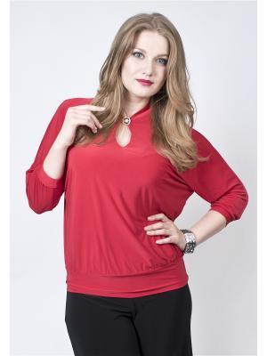 Блузка SPARADA. Цвет: красный