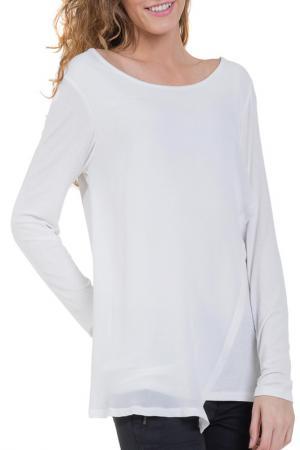 Блуза BIG STAR. Цвет: белый