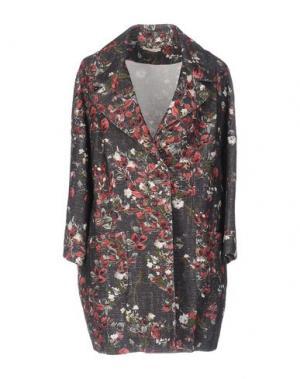 Легкое пальто ZHELDA. Цвет: стальной серый