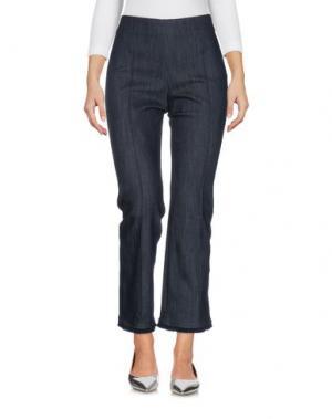 Джинсовые брюки ELIZABETH AND JAMES. Цвет: синий