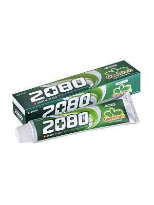 Зубная паста ЗЕЛЕНЫЙ ЧАЙ 120 гр Kerasys. Цвет: белый