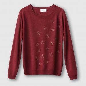 Пуловер Maurier с переливающимися звездами SUD EXPRESS. Цвет: черный