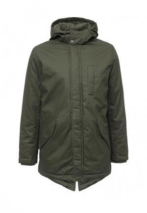 Куртка утепленная Cortefiel. Цвет: хаки