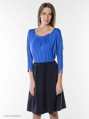 Платье Pura. Цвет: синий, темно-синий