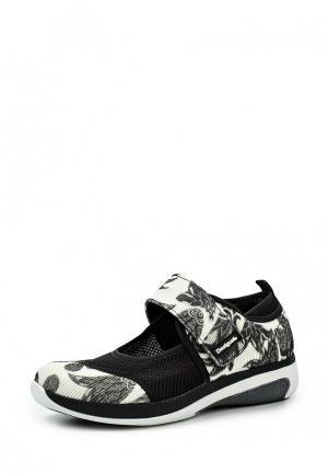 Туфли Desigual. Цвет: черно-белый