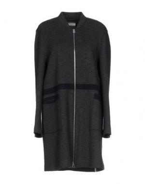 Пальто ROSSO35. Цвет: свинцово-серый