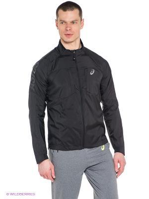 Куртка Ms FujiTrail Jacket ASICS. Цвет: черный