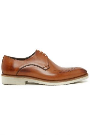 Туфли-дерби Del Re. Цвет: коричневый