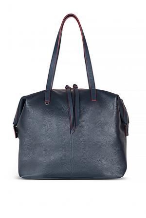 Сумка-шоппер+аксессуар GA-189167 Avanzo Daziaro. Цвет: синий