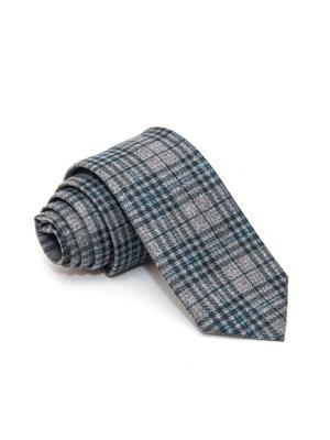 Галстук Churchill accessories. Цвет: серый, голубой, синий