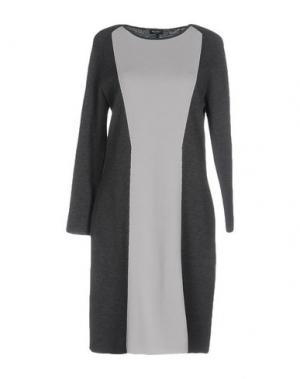 Короткое платье NEERA. Цвет: серый