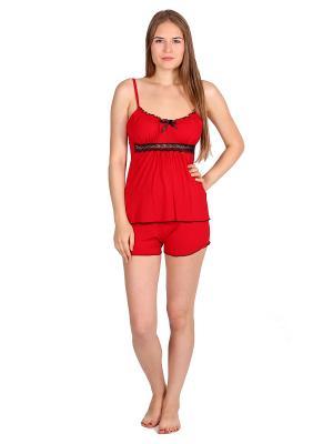 Пижама Startale. Цвет: красный