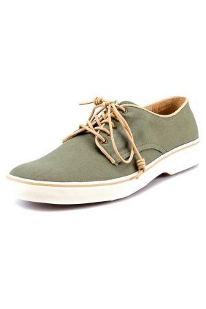 Туфли G.H. BASS. Цвет: зеленый