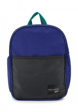 Рюкзак adidas Originals. Цвет: синий