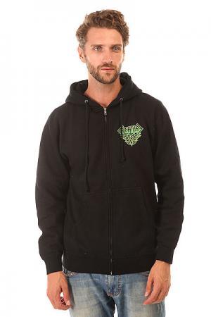 Толстовка классическая  Horde Black Creature. Цвет: черный,зеленый