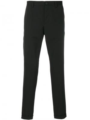 Классические укороченные брюки чинос Dolce & Gabbana. Цвет: чёрный