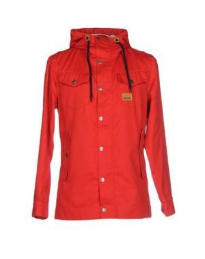 Куртка ENCORE. Цвет: красный