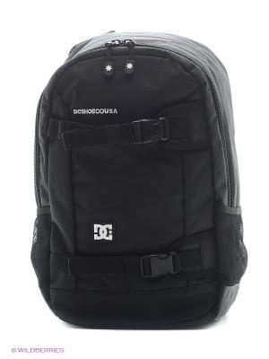Рюкзак DC Shoes. Цвет: черный, белый
