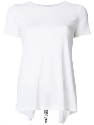 Асимметричная рубашка Dondup. Цвет: белый