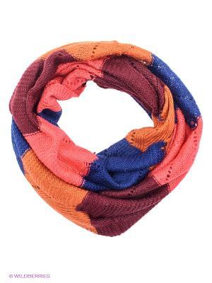 Снуд Sabellino. Цвет: синий, бордовый, коралловый, оранжевый