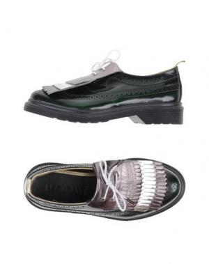 Обувь на шнурках LEQARANT. Цвет: темно-зеленый