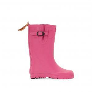 Сапоги непромокаемые Woodypop AIGLE. Цвет: розовый