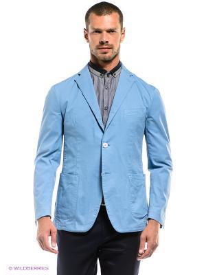 Пиджак Henry Cotton's. Цвет: голубой