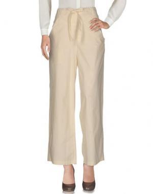 Повседневные брюки TSUMORI CHISATO. Цвет: бежевый