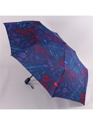 Зонт Airton. Цвет: синий, голубой, фуксия