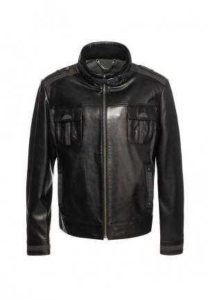 Куртка Московская меховая компания. Цвет: черный