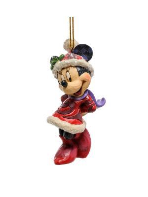 Фигурка Минни Маус Disney Traditions. Цвет: красный, зеленый, синий