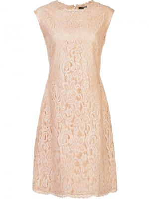 Lace dress Josie Natori. Цвет: телесный