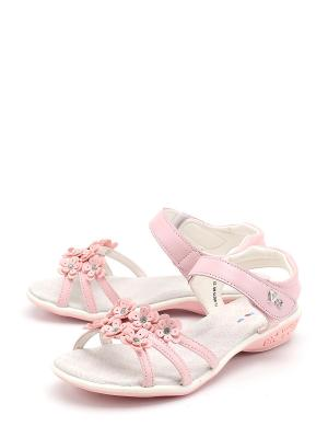 Босоножки Flois. Цвет: розовый