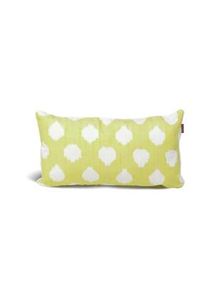 Чехол на подушку декоративныйIkat Long 35*60см RAWEDGE. Цвет: желтый