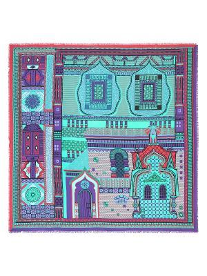 Платок Eleganzza. Цвет: бирюзовый, малиновый, фиолетовый