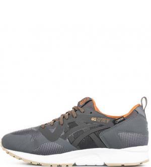 Серые кроссовки с вкладной стелькой Asics Tiger. Цвет: серый