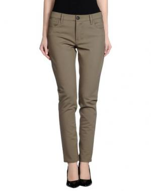 Повседневные брюки TAG ELEMENTS. Цвет: зеленый-милитари
