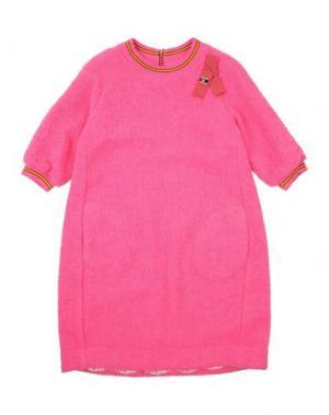 Платье MIMISOL. Цвет: светло-фиолетовый