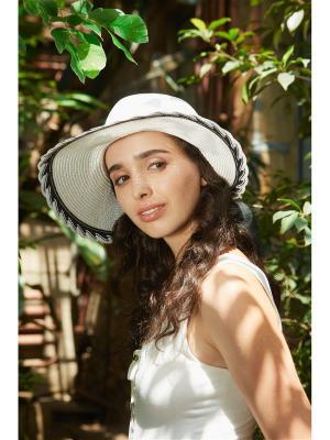 Шляпа Каникулы в Рио Nothing but Love. Цвет: черный, белый