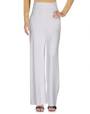 Повседневные брюки SIMONA CORSELLINI. Цвет: белый
