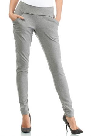 TROUSERS Moe. Цвет: gray