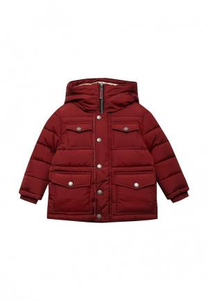 Куртка утепленная Gulliver. Цвет: бордовый