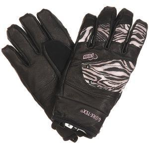 Перчатки сноубордические женские  Empress Gtx Glove Zebra Pow. Цвет: черный