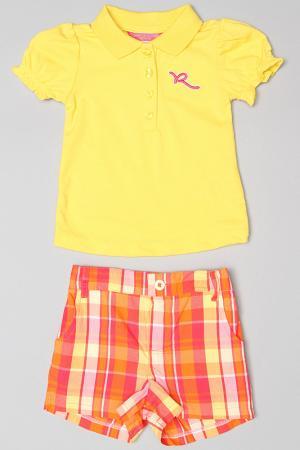 Костюм Rocawear. Цвет: желтый